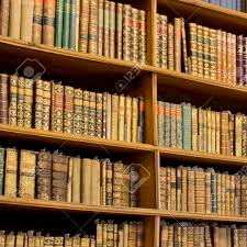 book shelves in an old library stock photo picture and royalty free