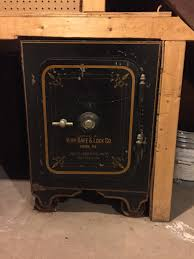 york safe. antique safe from york lock \u0026 co. n