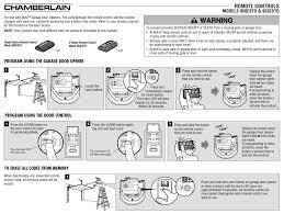 how to reset garage doorLofty How To Reset A Chamberlain Garage Door Opener 953ESTD