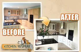 how to spray kitchen cabinets kitchen respray in spray kitchen cabinets sydney