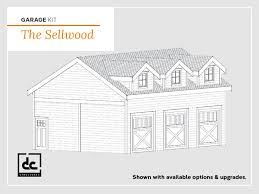 Free garage building plans detached wholesale Apartment The Sellwood Garage Kit Onlinefilminfo Garage With Living Quarters Kits Dc Structures