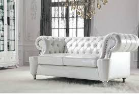 nice white leather chesterfield sofa pls516w luxury perl white genuine leather sofa setclassic