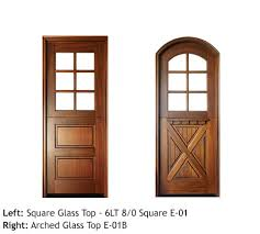 dutch style entry doors square and arched top divided 6 lite glass top door