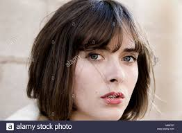 Light Brown Hair Hazel Eyes Female Portrait Of A Beautiful Fair Skinned Woman With Hazel Eyes