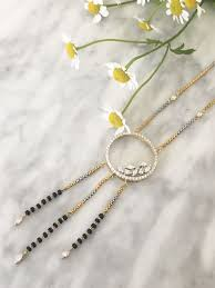 Image Design Jewellery Inc Saath Phere Bridal Jewelry Diamond Mangalsutra Indian