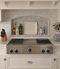 Subway Tile Backsplash Patterns Custom Tile Backsplash Ideas For Behind The Range Inspiring Design