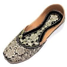Mojari Size Chart Women Mojari Jutti Slippers Traditional White Color Handmade Punjabi Us Style Ebay