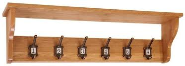 School Coat Rack Buy Vancouver Petite oak School Coat Rack 100 Hooks Online CFS UK 38