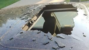 <b>Dry</b> shampoo can explodes in <b>car</b>, blasts a hole through the roof ...
