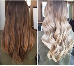 how to go from dark brown to blonde
