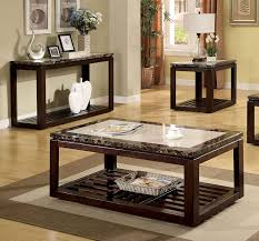 End Tables Designs Appealing Looked In Dark Brown bined To