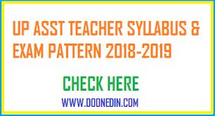 Up Assistant Teacher Syllabus 2018 2019 Pdf Sahayak Adhyapak Exam