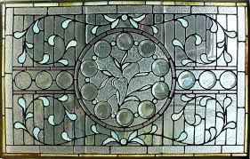 framed stained glass window panels homes design ideas