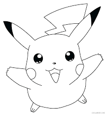 pikachu coloring pages printable game wheel mega pikach