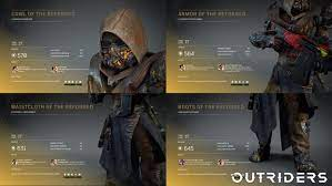 Create and customise your own outriders and choose from one of four unique classes to annihilate your. Outriders La Future Bonne Surprise