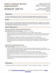 Customer Service Representative Resume Custom Claims Customer Service Representative Resume Samples QwikResume