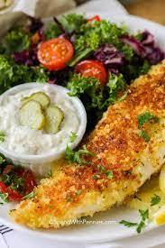 parmesan crusted tilapia spend with