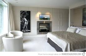 modern master bedroom with fireplace. Bedroom Fireplaces Modern Master With Fireplace E