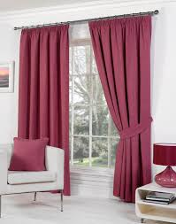 Living Room Ready Made Curtains Rome Ready Made Lined Curtains Raspberry Pencil Pleat Curtains
