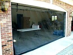 full size of retractable garage screen door reviews cost doors for sliding bug seal decorating cool