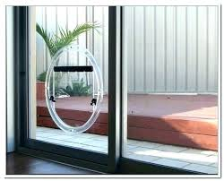 sliding glass pet door insert reviews with dog built in french patio awes diy sliding glass door dog