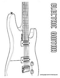 Small Picture Double Neck Guitar Coloring Page You dont see too many guitarist