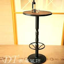 tall bar tables impressive high bistro table wrought