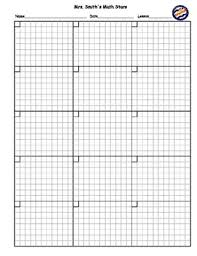 saxon math homework sheet blank math homework practice sheet customizable by 3brightstars