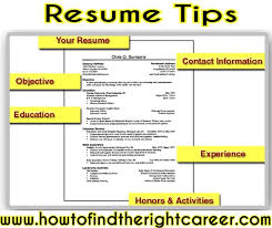 Resume Writing Tips Awesome Writing Resumes Tips Canreklonecco