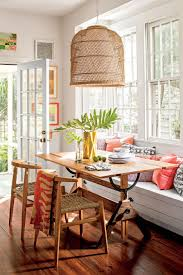 10 colorful ideas for small house design i love how the built in bench to save e diningroomdecorating