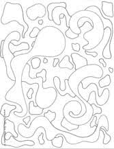 Small Picture Abstract Coloring Pages Doodle Art Alley