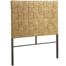 Seagrass Bedroom Furniture Woven Block Seagrass Headboard Pier 1 Imports