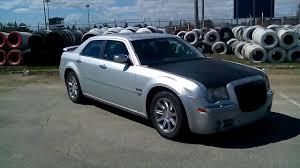 My Chrysler 300C Hemi 2005 with black hood painted with Plasti Dip ...