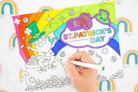 Free prıntable colorıng pages for kıds Free Printable Leprechaun Coloring Page Made With Happy