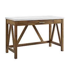 Image Design Forest Gate 46inch Aframe Desk Bed Bath Beyond Office Desks Computer Writing Executive Desks More Bed Bath