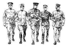 Kleurplaat Soldaten Eerste Wereldoorlog Afb 22897 Images