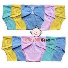 COMBO 10 Quần đóng bỉm vải cho bé sơ sinh Thái Hà Thịnh, 100% cotton