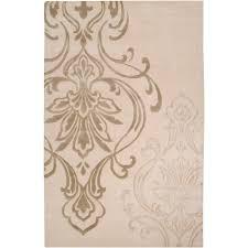 surya candice olson ivory 5 ft x 8 ft area rug