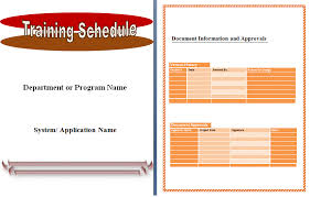 training plan template word training plan schedule template free word template duyudu