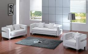 White Living Room Furniture White Leather Living Room Chairs Living Room Design Ideas