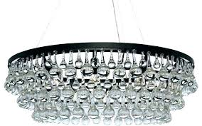 chandeliers glass drop chandelier drops chandeliers crystal rectangular clarissa installation
