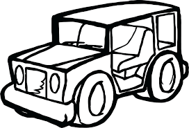 jeep coloring pages safari