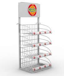 Metal Display Racks And Stands Metal display rack for shops CHIPITA THE STAND COMPANY KI 47