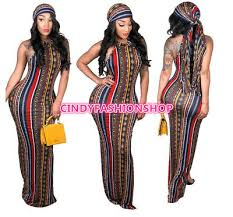 <b>USA Women</b> African Sleeveless <b>Summer</b> Print Sexy <b>Boho</b> Casual ...