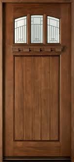 Exterior Door solid exterior door pics : Front Door Custom - Single - Solid Wood with Walnut Finish ...