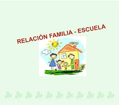 Resultado de imagen de dibujos sobre la relación familia escuela