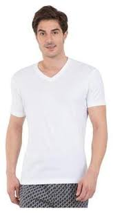 Jockey Men S T Shirts Size Chart Buy Jockey Men V Neck Sports T Shirt White Online At Low