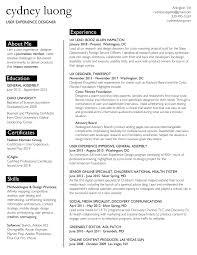 resume ux designer resume cydney luong ux designer