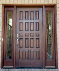 Is A Front Door Makeover Right For You Door Makeover And Front - Hardwood exterior doors and frames