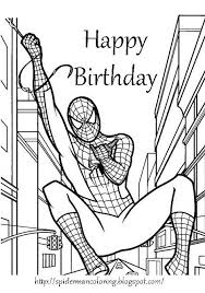 Celebrate each year of someone's life with a customized diy card. Spiderman Coloring Spiderman Print And Colour Superhero Coloring Pages Birthday Coloring Pages Spiderman Coloring